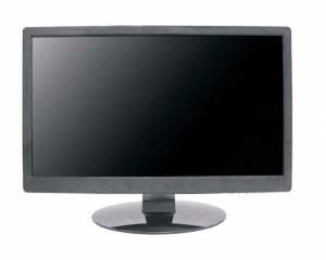 MONITOR INDUSTRIALE LCD DID, USO INTENSIVO 24h X 7gg, RISOL. 1920x1080, SUPP. TVI/AHD/CVI, VIS. FINO 178°, ING. HDMI E VGA, IN/OUT BNC