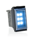 LUCE DA INCASSO A LED 1 MODULO, START A COMANDO O PER MANCANZA RETE - SERIE BTICINO LIVING INTERNATIONAL